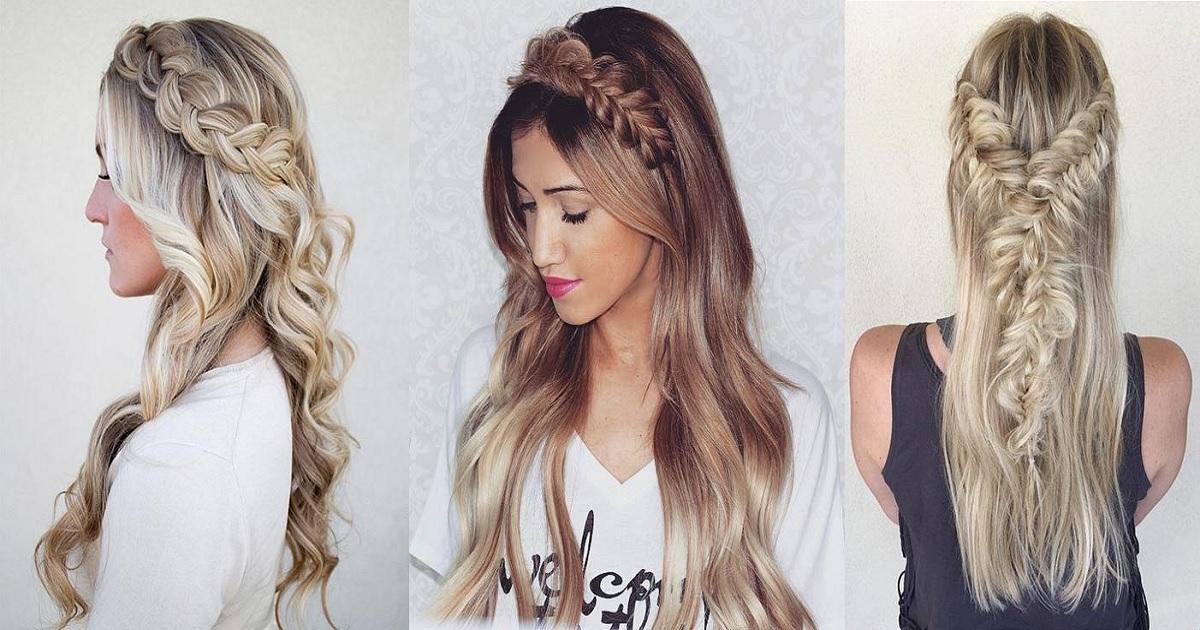 23 Stunning Half Up, Half Down Hairstyles